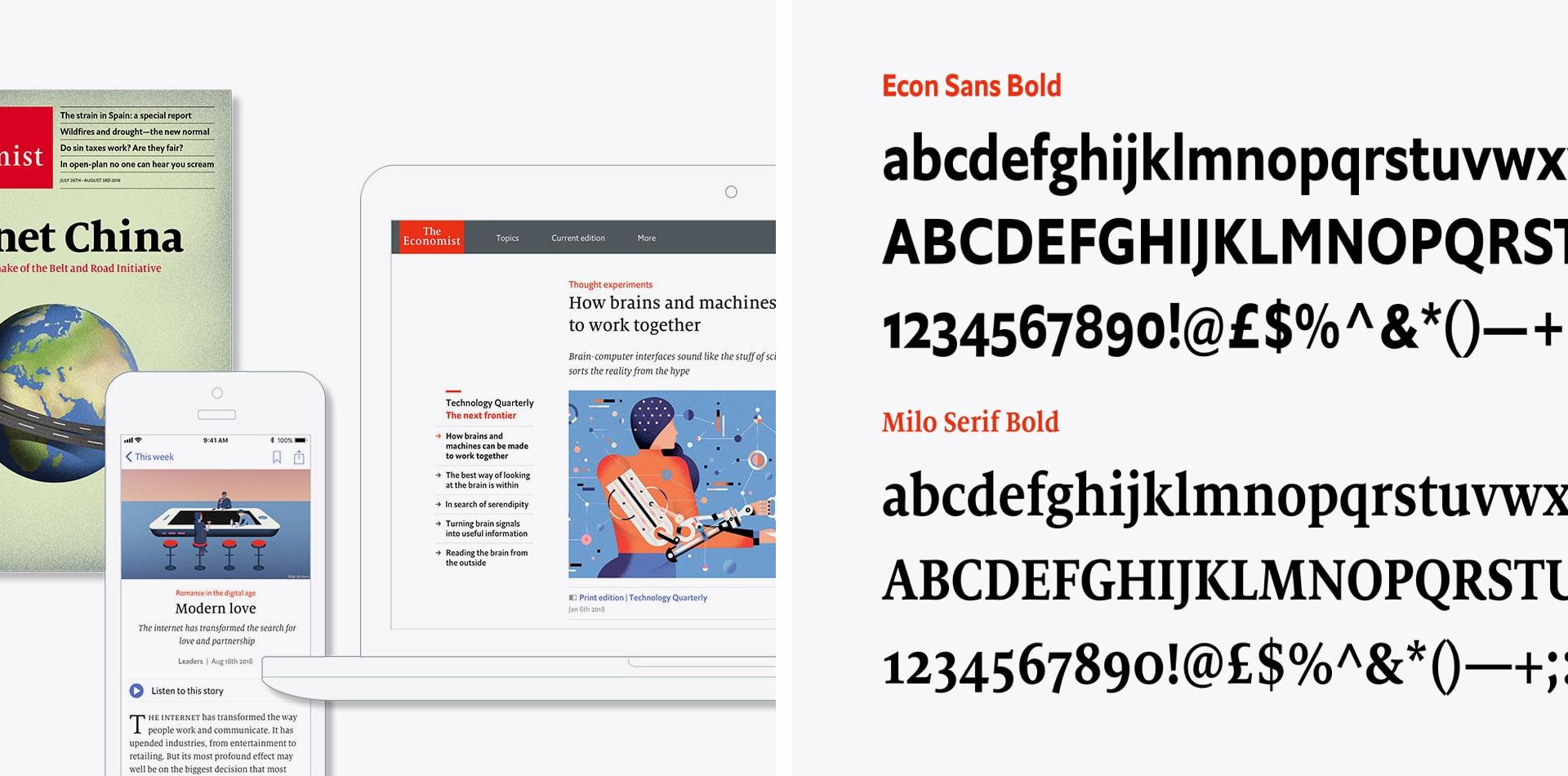 Economist pattern library