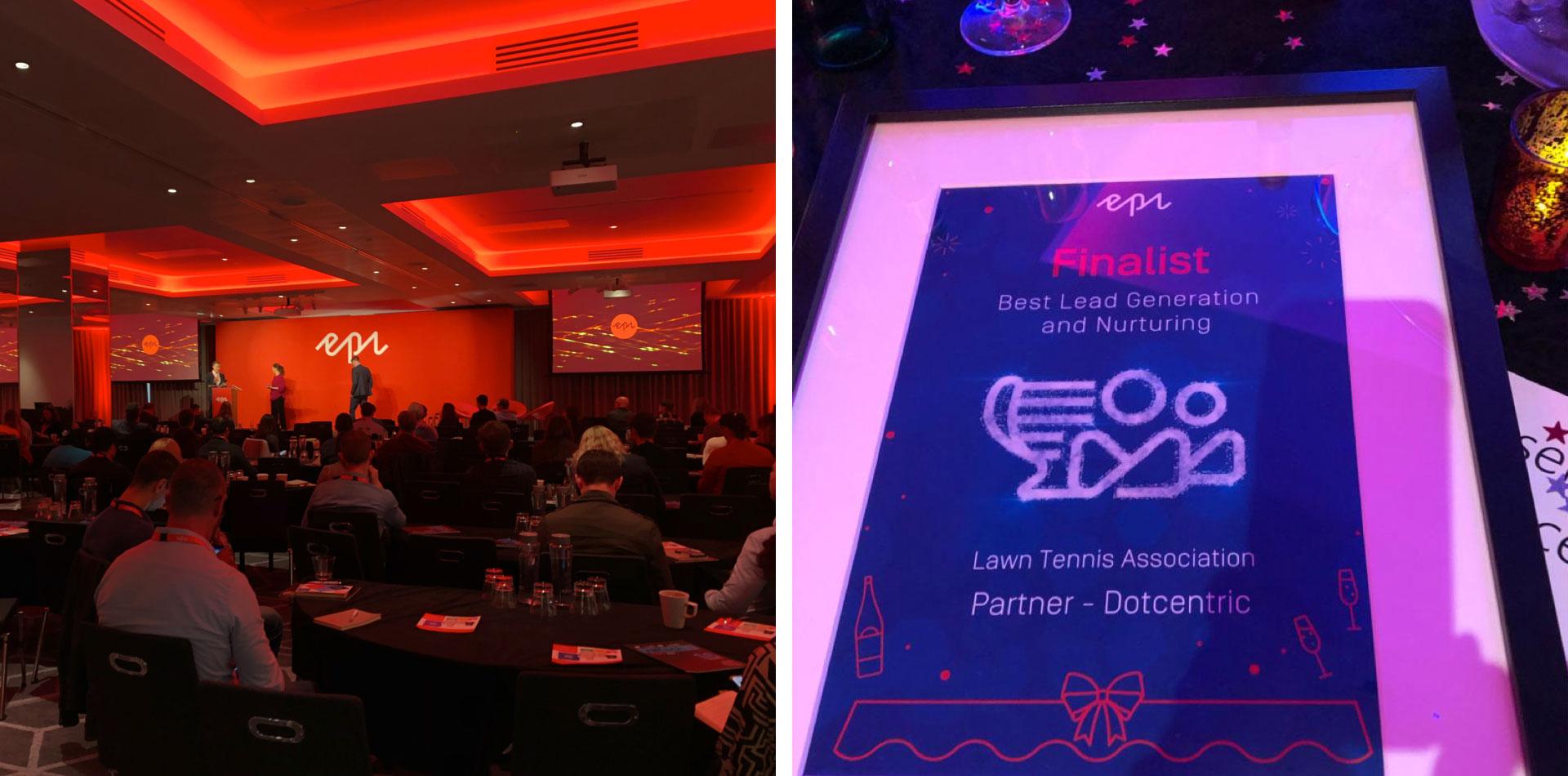 Photo of the 2019 Episerver awards in London