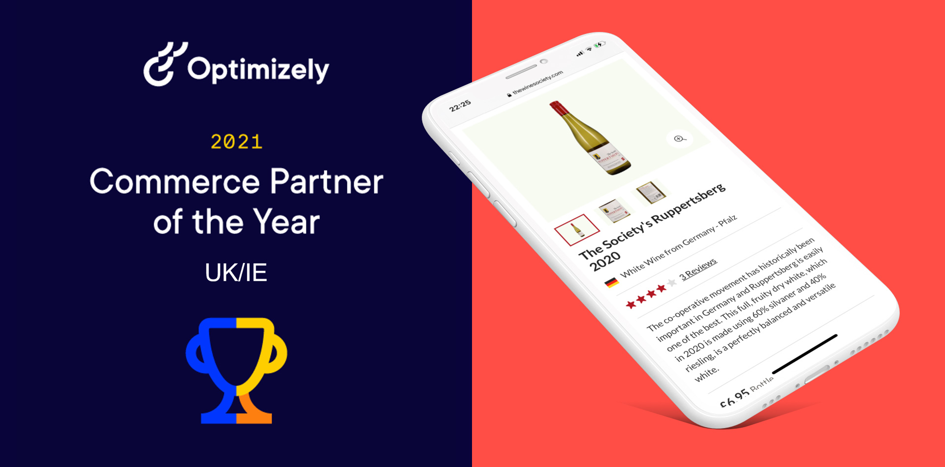 dotcentric - awarded Optimizely Commerce Partner of the Year in the UK/IE